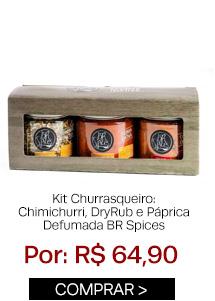 Kit churrasqueiro BR Spices