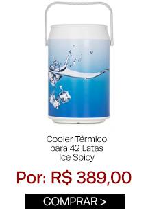 Cooler térmico para 42 latas ice Spicy